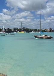 plage de brand baie île Maurice